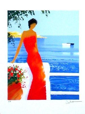Lithograph Bellet - Parfums de mer
