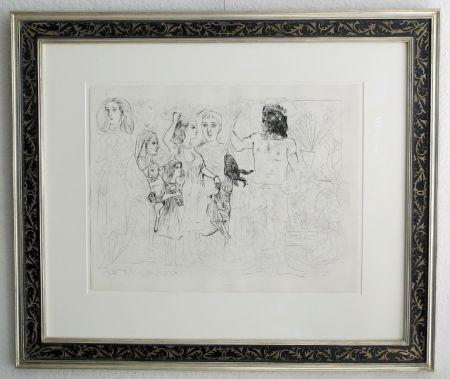 Lithograph Picasso - Paris 14. Juillet 1942