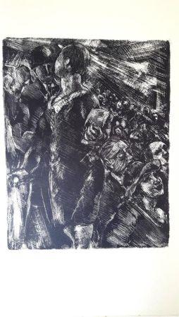 Lithograph Moreau - Paris Au Cinéma