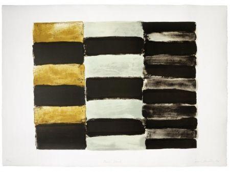 Lithograph Scully - Paris black