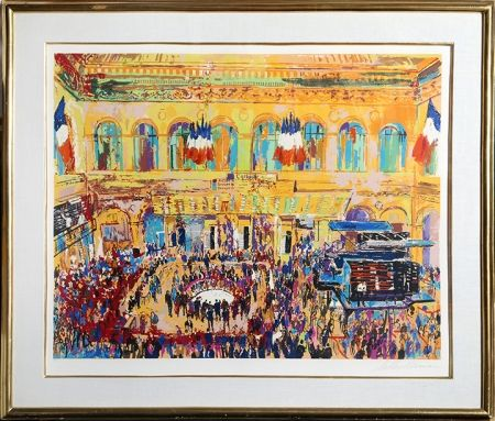 Screenprint Neiman - Paris Bourse