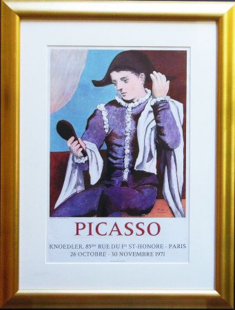 Lithograph Picasso - Paris, Galerie Knoedler Signed