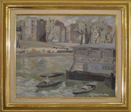 No Technical Holy - Paris, Kanal mit Bateaux-Lavoir