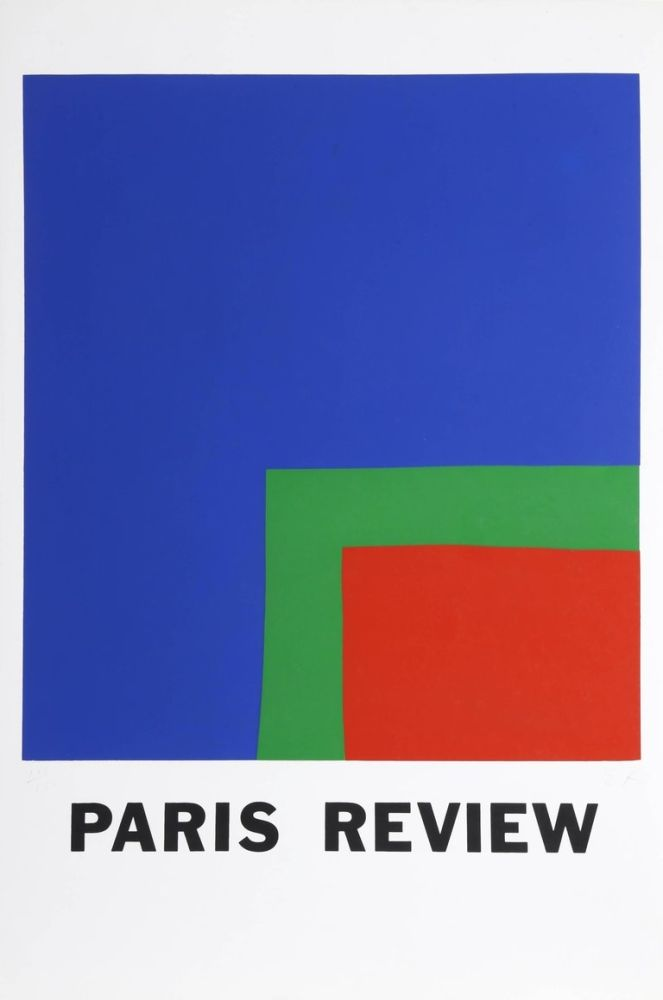 Screenprint Kelly - Paris Review