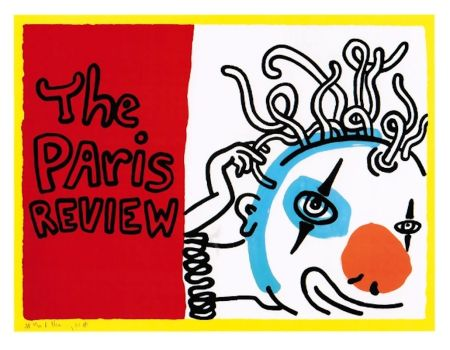 Screenprint Haring - Paris Review