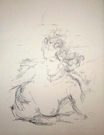 Lithograph Giacometti - Paris sans fin