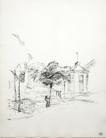 Lithograph Giacometti - PARIS SANS FIN (de la suite