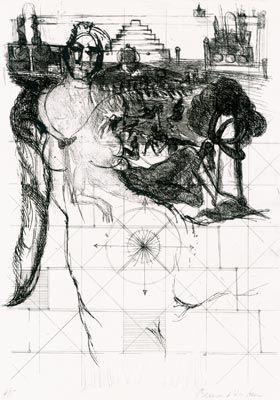 Engraving Dufour  - Paroles Peintes