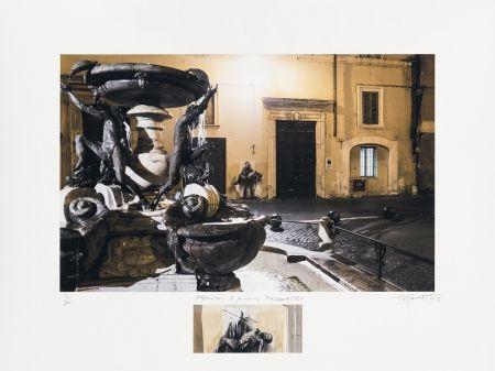 Numeric Print Pignon-Ernest - Pasolini Si je reviens Piazza Mattei