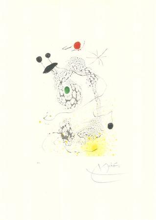 Aquatint Miró - Passacaille