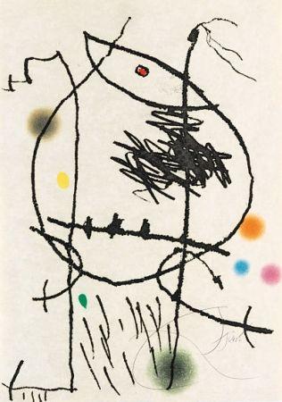 Etching And Aquatint Miró - Passage de l'Égyptienne 4