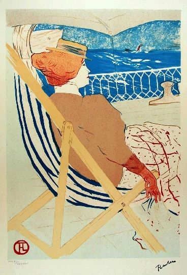 Lithograph Toulouse-Lautrec - Passage du 54
