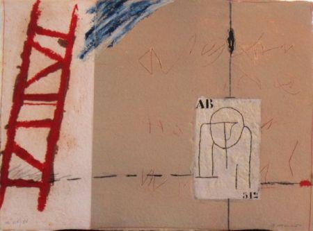 Lithograph Coignard - Passager 5