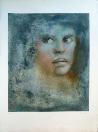 Lithograph Fini - Passager Bleu