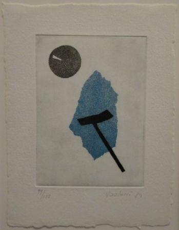 Aquatint Paolucci - 'Passaggio', Werke aus den Jahren 1973 bis 1983