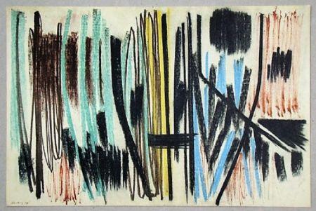Offset Hartung - Pastel P. 1950-4