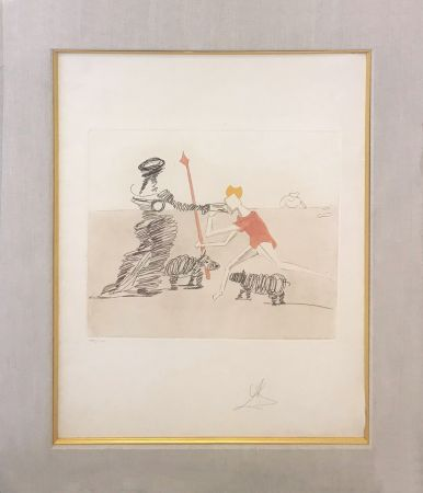 Etching And Aquatint Dali - PASTORALE