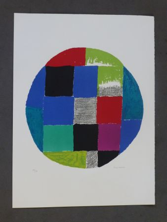Lithograph Delaunay - Patchwork