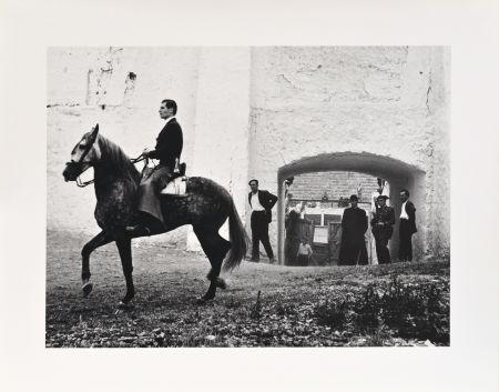 Photography Català-Roca - Pati de cavalls, 1957