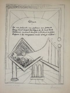 Engraving Dominguez - Patience