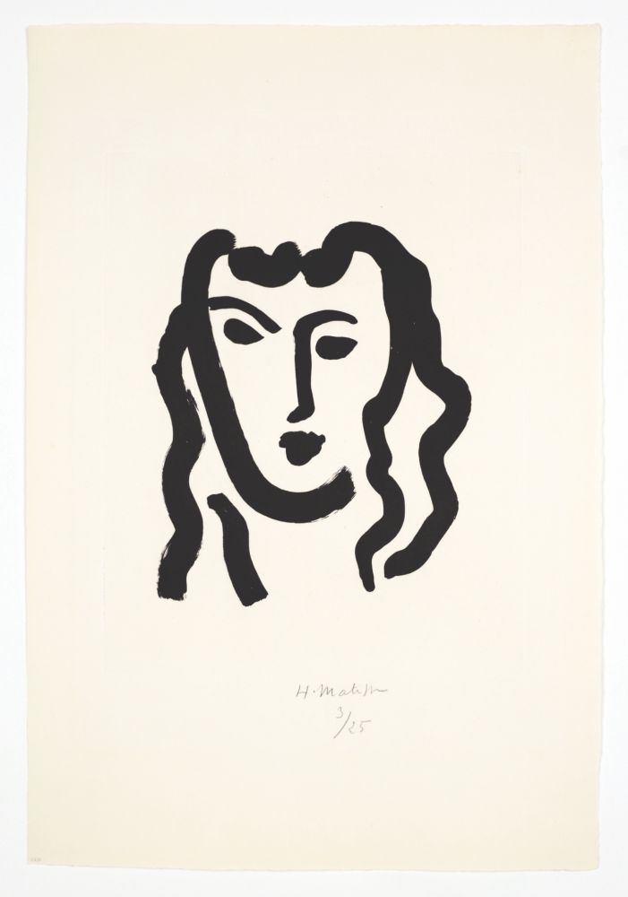 Aquatint Matisse - Patitcha. Masque