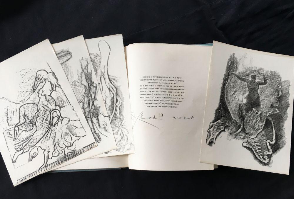 Illustrated Book Ernst - Paul Éluard : CHANSON COMPLÈTE. Lithographies de Max Ernst (1939)