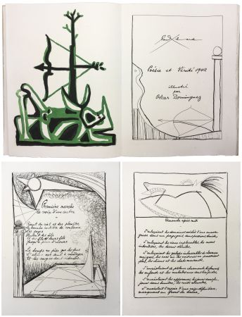 Illustrated Book Dominguez - Paul Éluard : POÉSIE ET VÉRITÉ 1942. 31 gravures originales (1947).