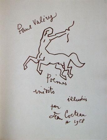 Lithograph Cocteau - Paul Valéry - Douze Poèmes