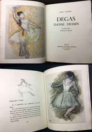 Illustrated Book Degas - Paul Valéry : DEGAS DANSE DESSIN (Vollard, Paris 1936).