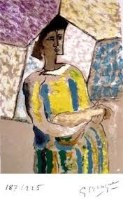 Lithograph Braque - PAULHAN (Jean). Braque le patron.