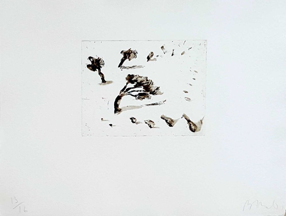 Etching Barcelo - Paysage