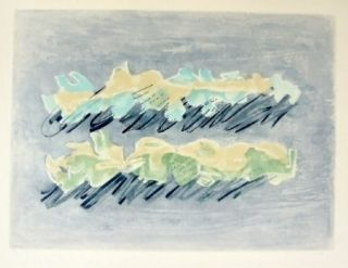 Etching And Aquatint Fautrier - Paysage 2