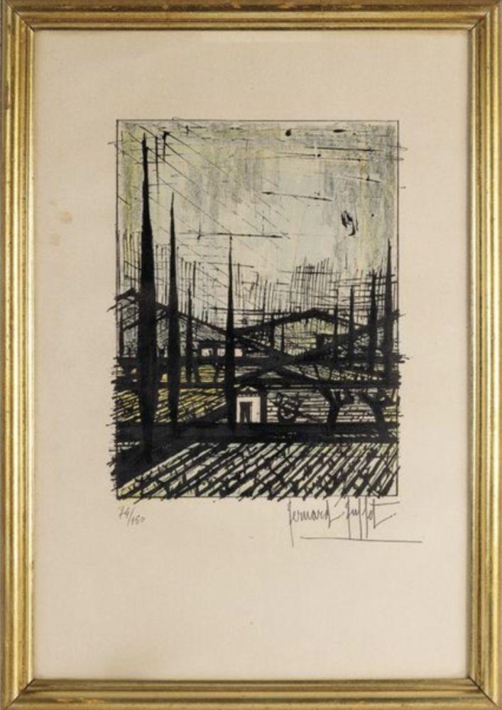Lithograph Buffet - Paysage de Provence