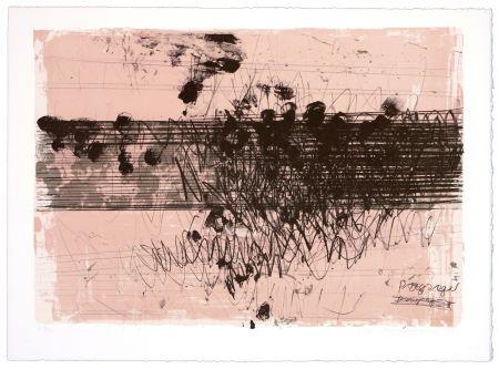 Lithograph Denning - Paysage II