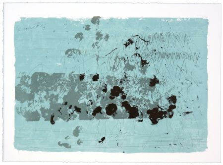 Lithograph Denning - Paysage III