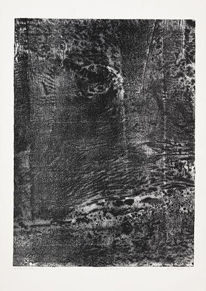 Lithograph Dubuffet - Paysage japonais