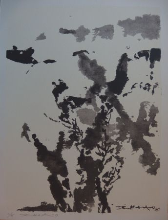 Screenprint Zao - Paysage marin