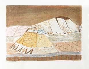 Lithograph Music - Paysage ombrien