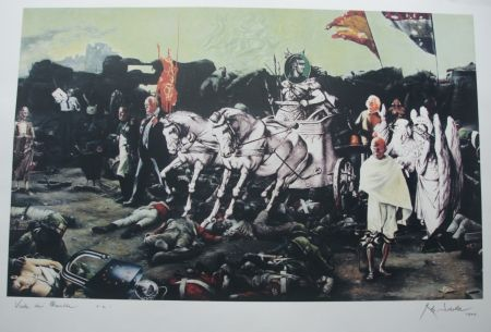 Screenprint Scholte - Peace of Munster