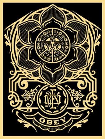 Screenprint Fairey - Peace Ornament
