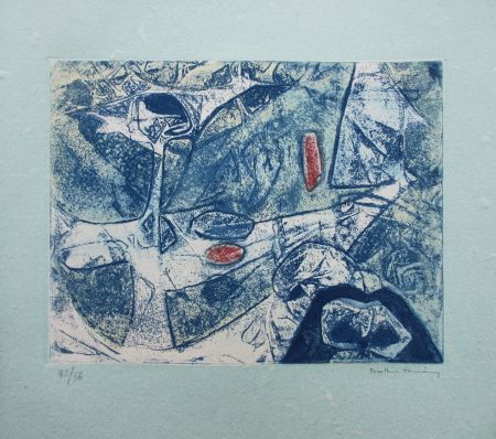 Etching And Aquatint Tanning - Peau