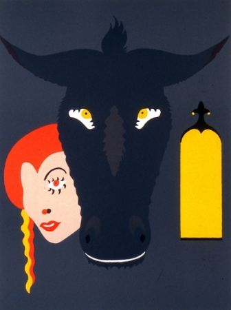 Lithograph Arroyo - Peau d'âne
