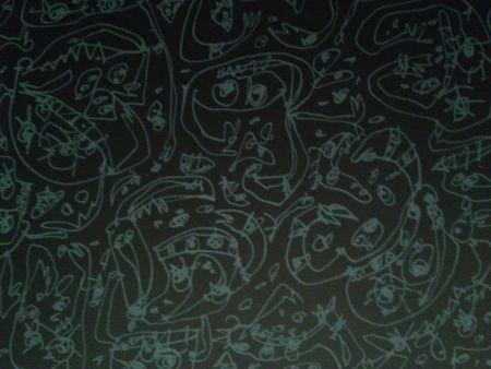 Lithograph Saura - Pecados Capitales