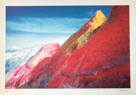 Screenprint Gueranger - Peindre le Mont-Blanc