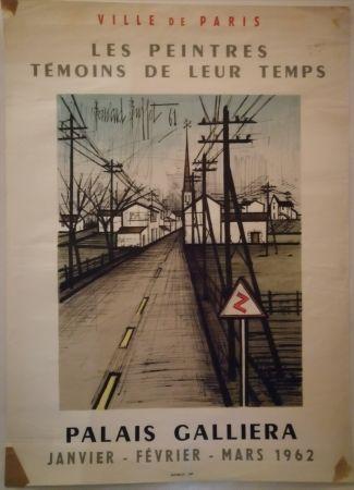 Poster Buffet - Peintres témoins de leur temps - 1962