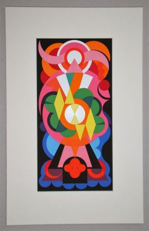 Screenprint Herbin - Peinture - 1938