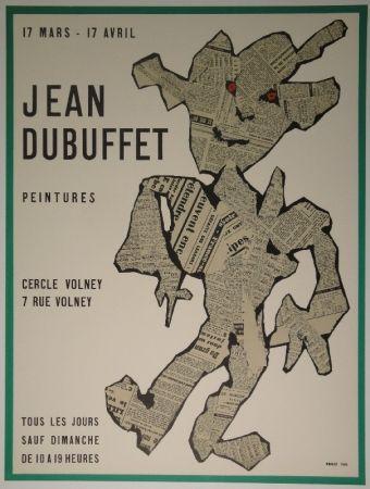 Lithograph Dubuffet - Peintures