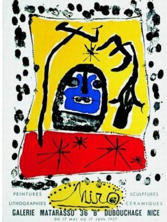 Lithograph Miró - PEINTURES-SCULPTURES-LITHOGRAPHIES-CERAMIQUES