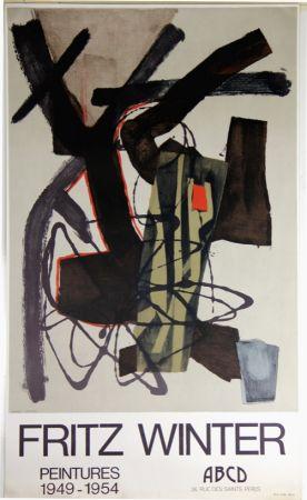 Lithograph Winter - Peintures 1949 1954
