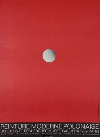 Lithograph Cieslewicz  - Peintures Modernes Polonaises